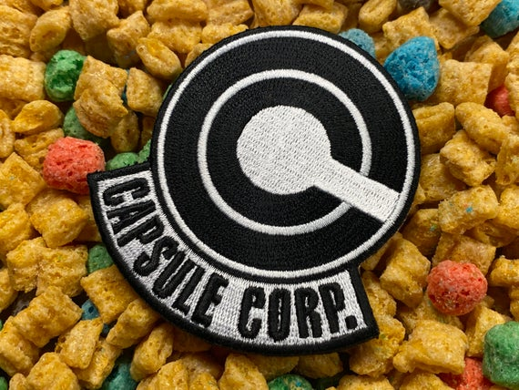 Capsule Corp. Iron-On Patch