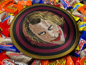 Giant The Dark Knight Heath Ledger Batman Movie Joker Goon logo Iron-On Patch