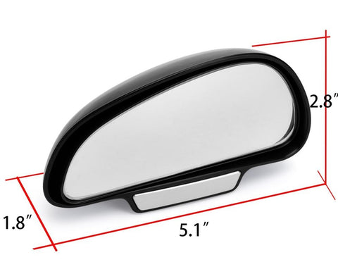 blind spot mirror measurements