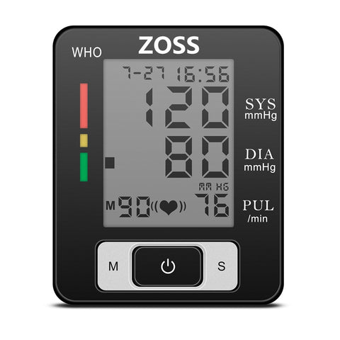 portable blood pressure machine with LED display