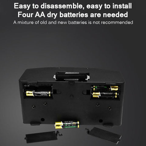 auto card shuffer battery compartment