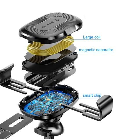 all parts of cell phone holder for car