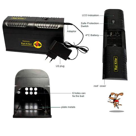electric rat trap specifications