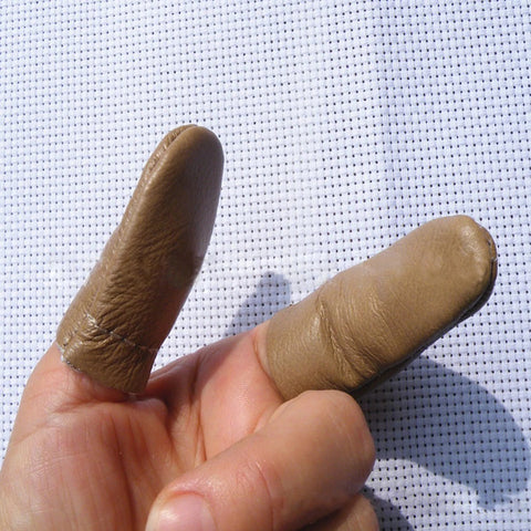 finger protection for leather tooling kit