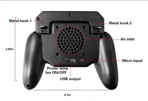 mobile game controller specifications
