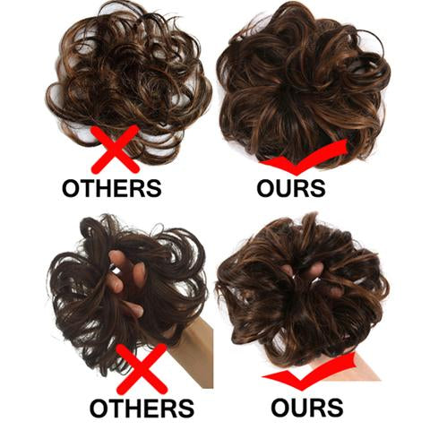 our messy buns are the best