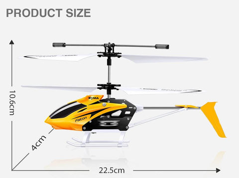rc helicopter measurements