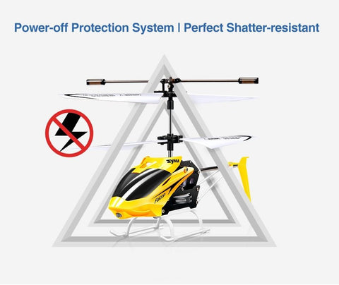 rc helicopter self shutoff