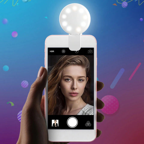 selfie light for photographs