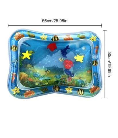 baby tummy time water mat measurements