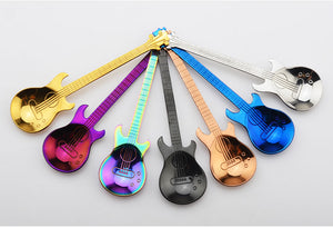 Rainbow Guitar Spoons