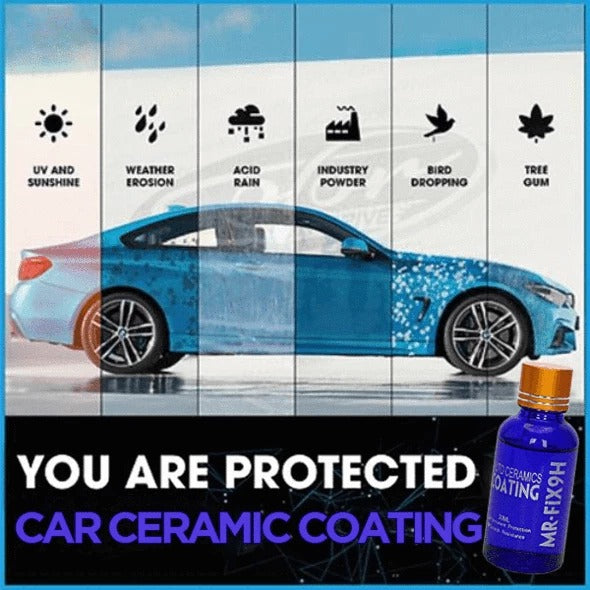 Ceramic Car Coating Kit