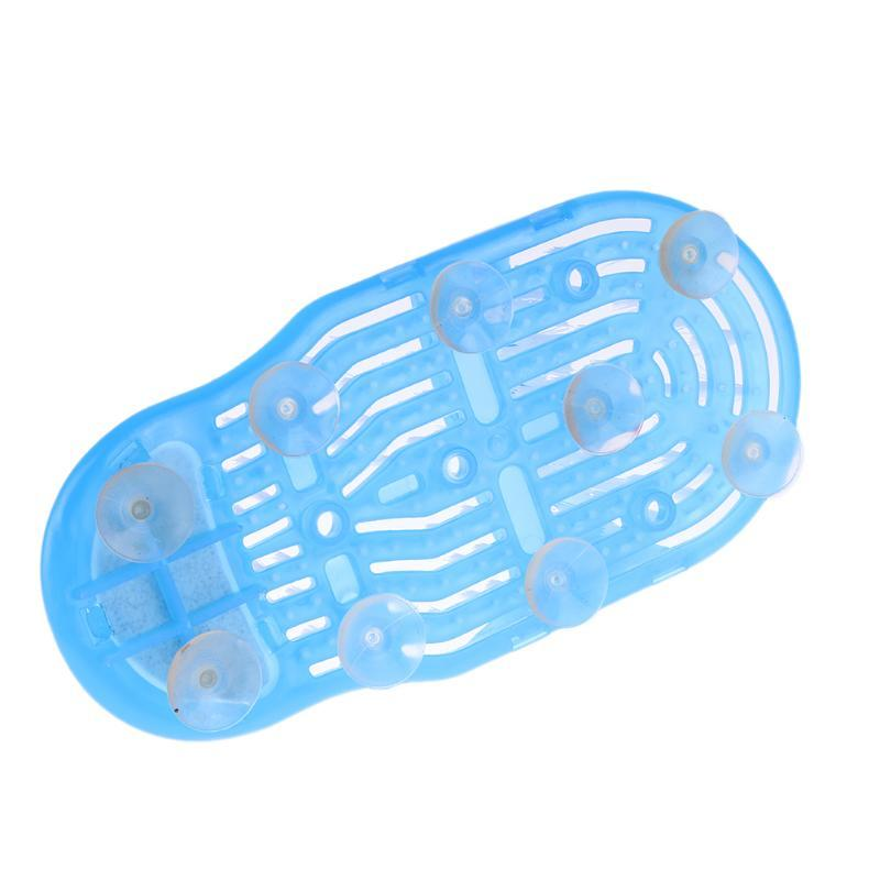 best shower foot scrubber with suction cups