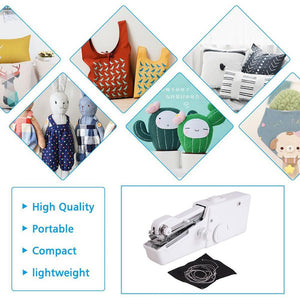 various uses for portable cordless sewing machine