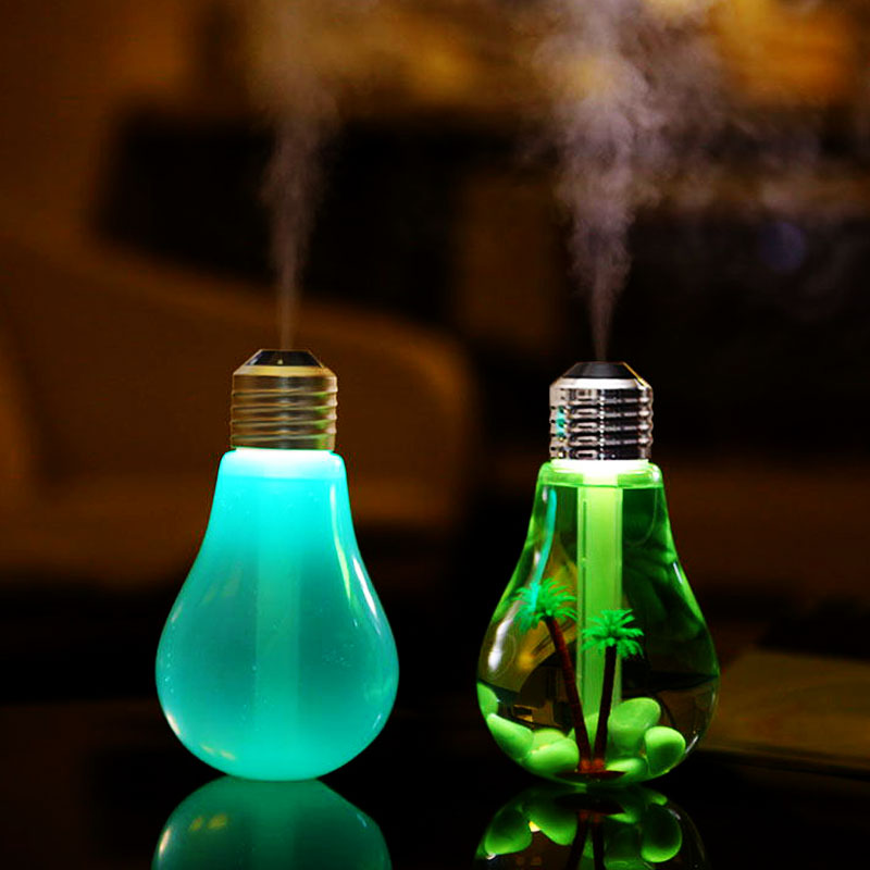Ultrasonic Lightbulb Humidifier