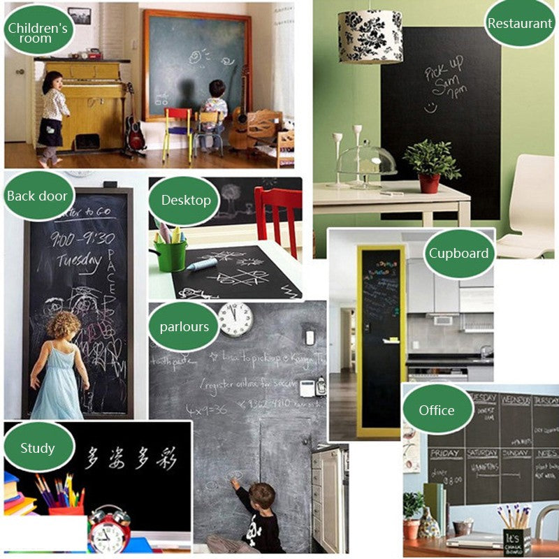 Vinyl Chalkboard Wall Sticker