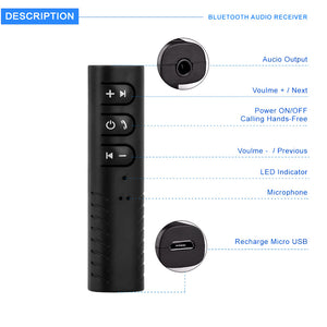 Wireless - Bluetooth AUX Car Kit