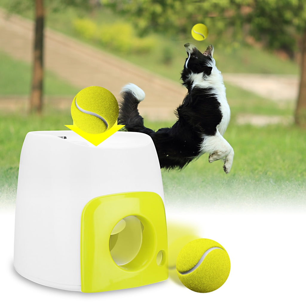 Interactive Ball Launcher Dog Training Tool