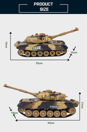 radio controlled tank measurements