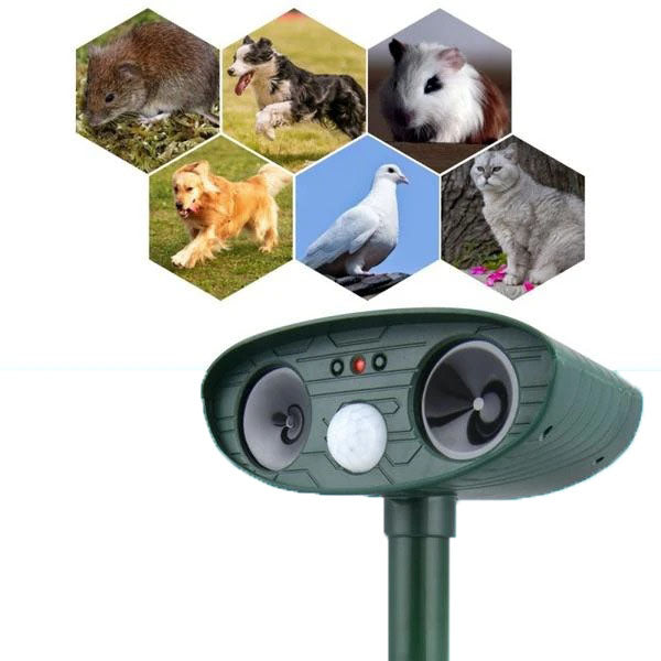 Ultrasonic Pest And Squirrel Repellent
