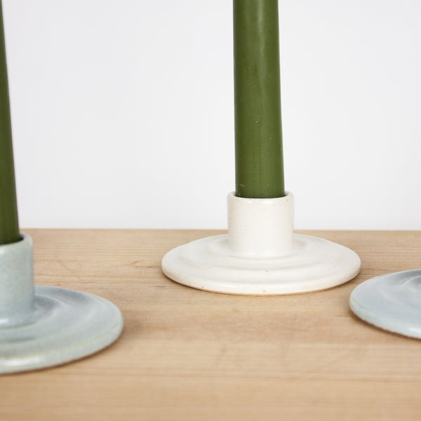 White Ripple Candlestick