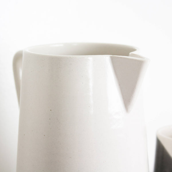White Milk Pitcher