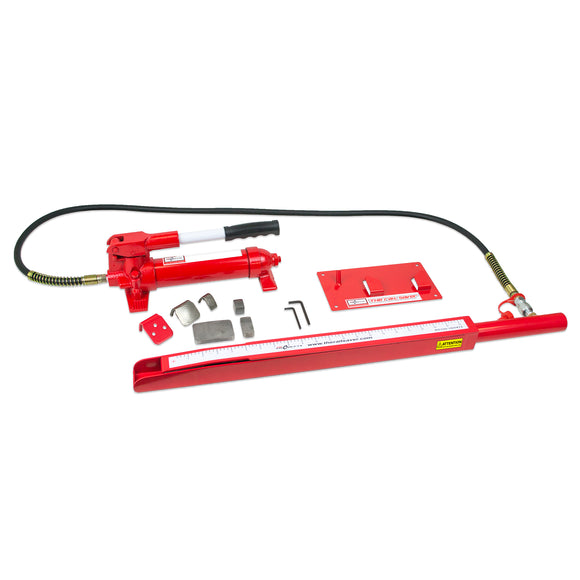 The Rail Saver, Accessory Kit, 4 Ton Pump, Ram, Case and Wall Bracket
