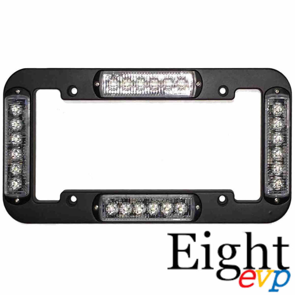 Eight EVP TAG 4 License Plate Frame Warning Light – Oz4WD