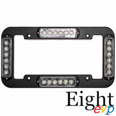 TAG 4 License Plate Frame Warning Light