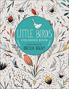 Little Birds Colouring Book
