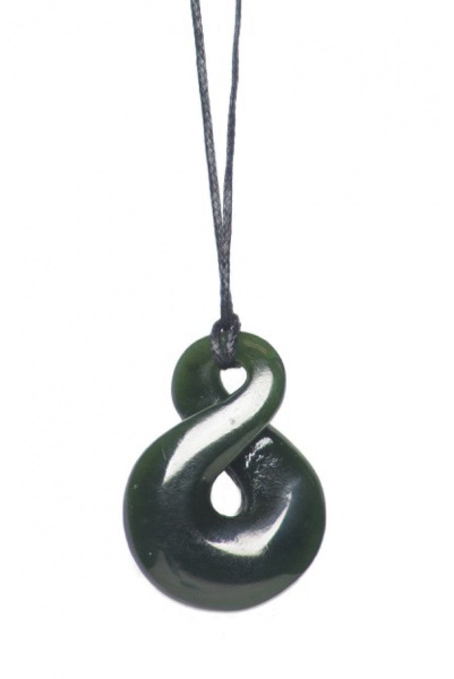 Ngai Tahu Pounamu - Single Rounded Twist