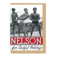 "Museum ""Nelson for Zestful Holidays"" Greeting Cards"
