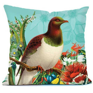 Botanical Kereru Cushion Cover