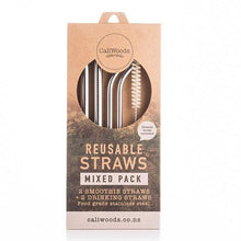 Metal Straws - Mixed Pack