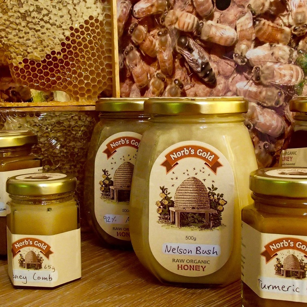 Norbs Gold Raw Organic Honey