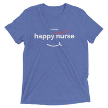 """Happy Student Nurse"" Mens Short sleeve t-shirt"
