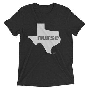Texas Nurse State Mens' Short sleeve t-shirt