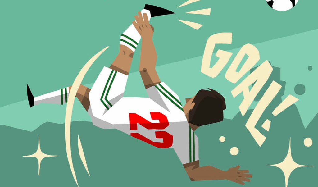 Manuel Negrete (Mexico v Bulgaria) voted the Greatest World Cup Goal ever