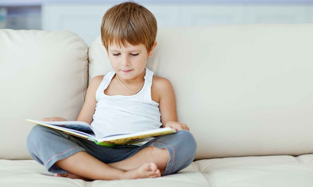 Reading football books could help your little one develop their English skills
