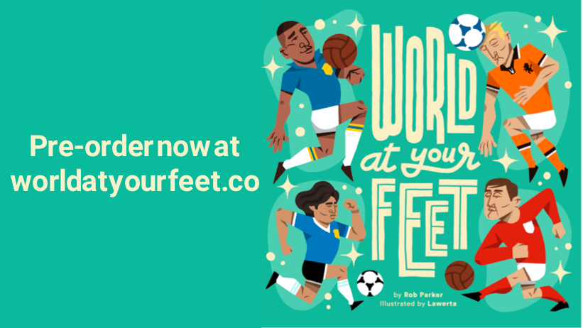 World At Your Feet available to pre-order