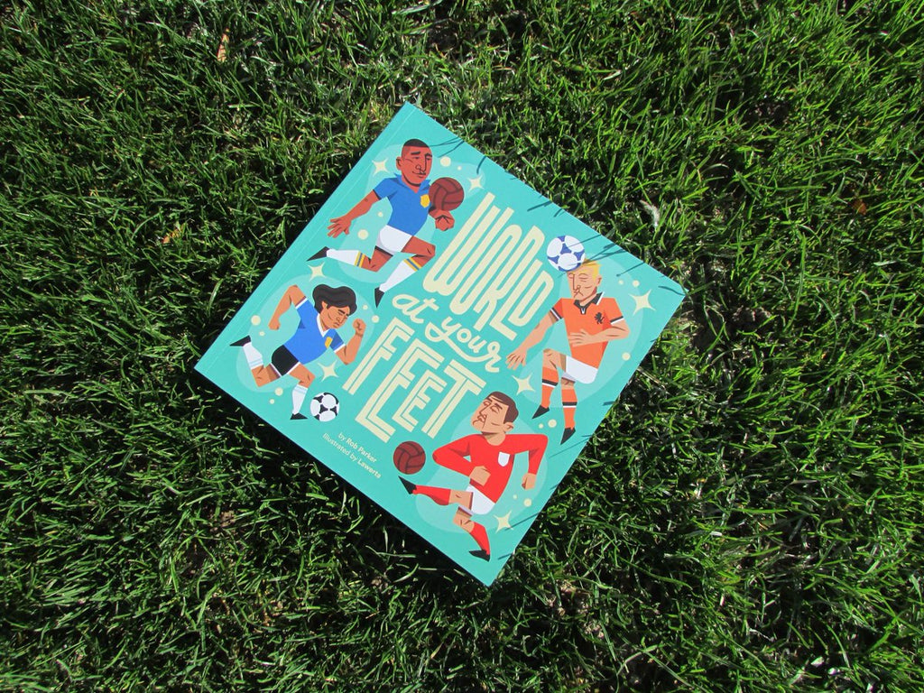 Christmas gifts for boys: World At Your Feet is a great gift idea