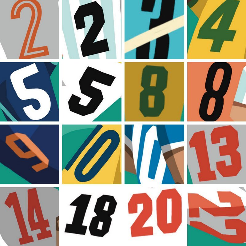 Football Shirt Numbers: The Maths of World At Your Feet