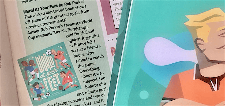Match of the Day, Kick! and Kickaround magazines feature World At Your Feet in World Cup issues