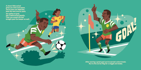 Children's Football Book - Roger Milla in World At Your Feet
