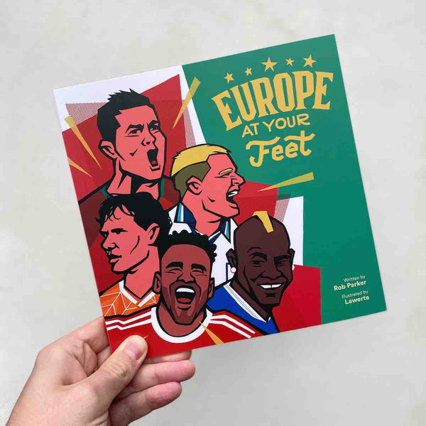 Europe At Your Feet football picture book