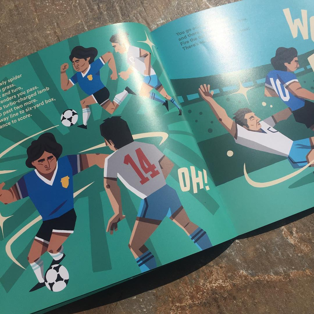 World At Your Feet Illustrated Football Book