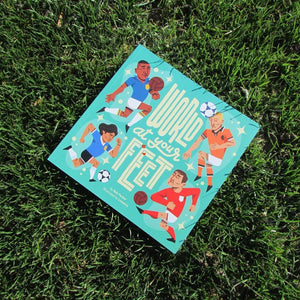World At Your Feet football picture book