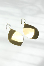 Convex Toned Earrings
