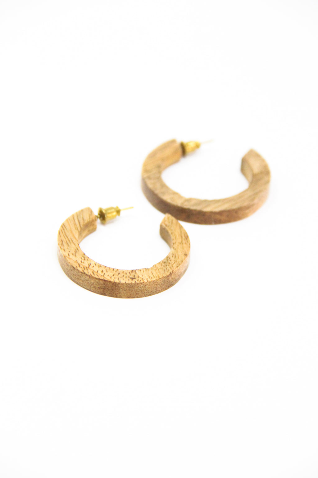 Wood Mango Everyday Hoops