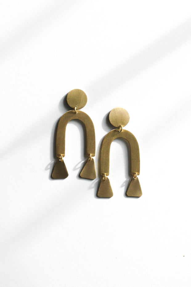 Modern Shapes Earrings Earrings Rover & Kin